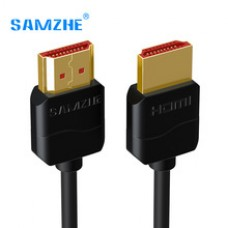 SAMZHE Slim HDMI to HDMI Cable 2.0 4K 3D for PS3 Projector HD LCD Apple TV Computer Cables 0.5M 1M 1.5M 2M 3M