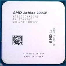 CPU AMD Athlon 200GE 3,2 Ghz 2 core/4 threads Integrated GPU Vega 3 AM4 OEM
